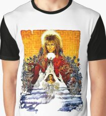 Labyrinth Poster Graphic T-Shirt