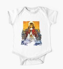 Labyrinth Poster Short Sleeve Baby One-Piece