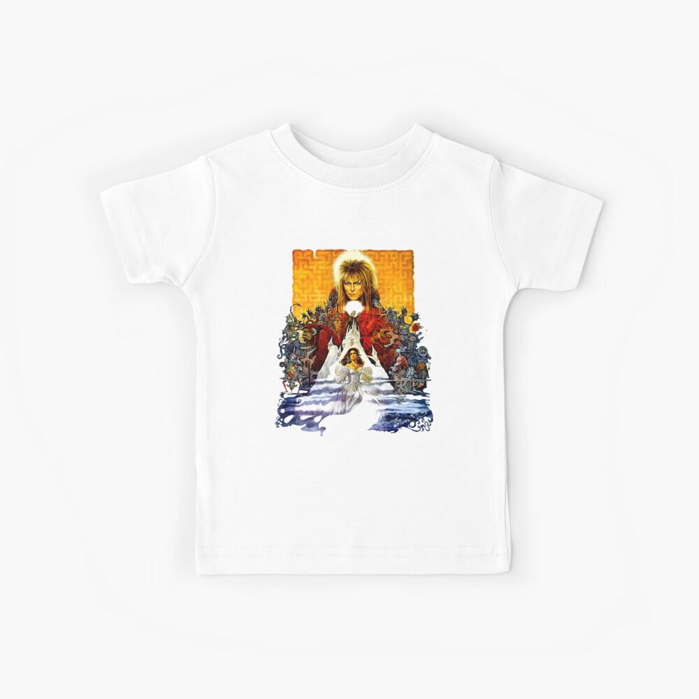 Laberinto Póster Camiseta para niños