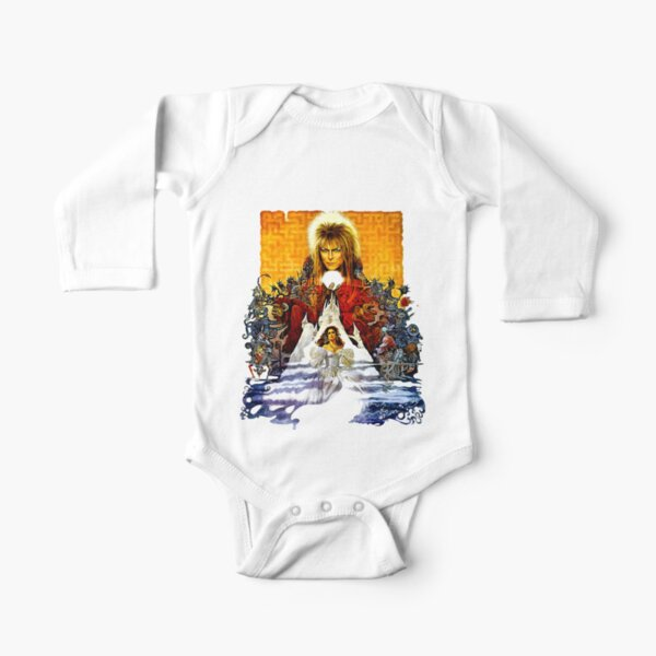 Labyrinth Poster Long Sleeve Baby One-Piece