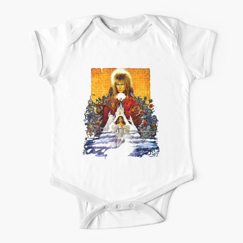 Labyrinth Poster Baby One-Piece