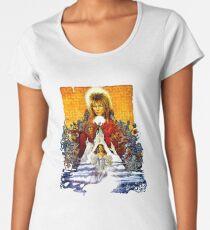 Labyrinth Poster Women's Premium T-Shirt