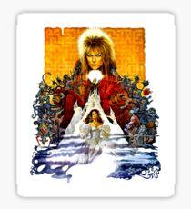 Labyrinth Poster Sticker