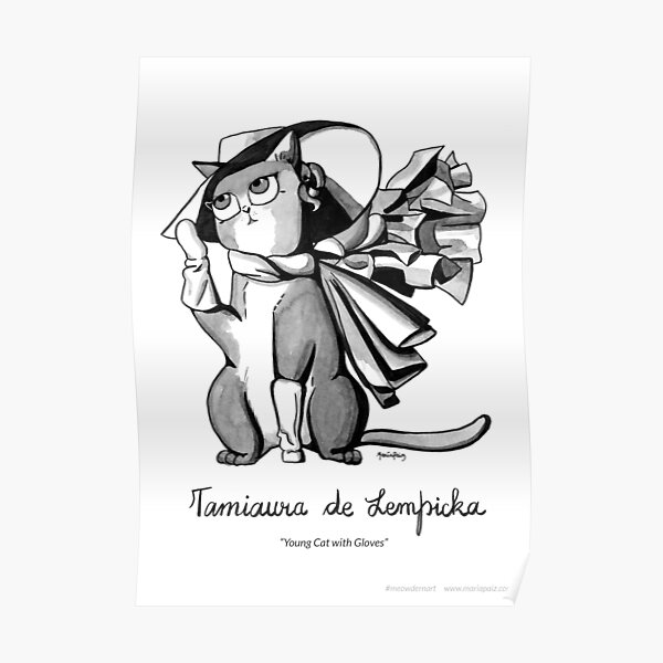#meowdernart - Tamiaura de Lempicka Poster