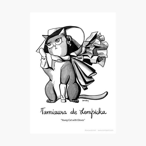 #meowdernart - Tamiaura de Lempicka Photographic Print