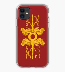 Roman Legionary Shield Emblem iPhone Case