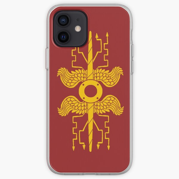 Roman Legionary Shield Emblem iPhone Soft Case