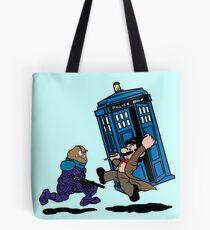 Doctor Mario Who Tote Bag