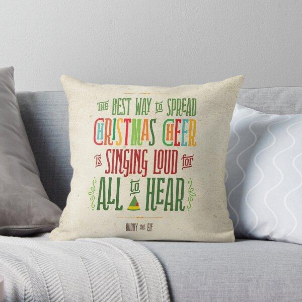 Buddy the Elf - Christmas Cheer Throw Pillow