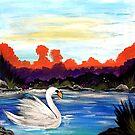 Swan Life by Adam Santana
