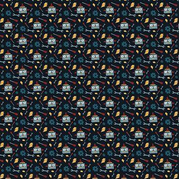 Robot pattern by indigoflame