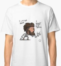 Bobo likes your boots Classic T-Shirt
