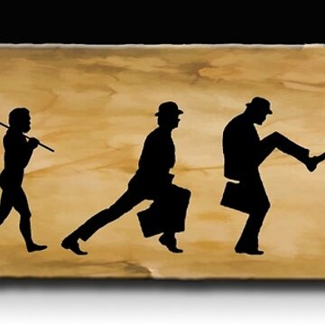 Darwin's Evolution of the Silly Walk by rgerhard