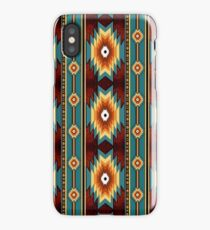 ethnic navajo southwestern  pattern iPhone Case