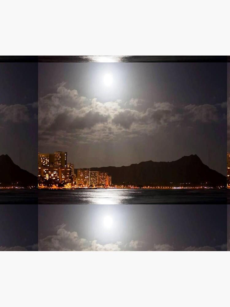 Moon Over Diamondhead by kjgordon