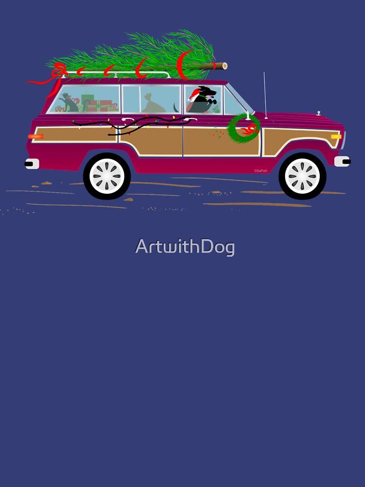 Coddiwomple Christmas by ArtwithDog