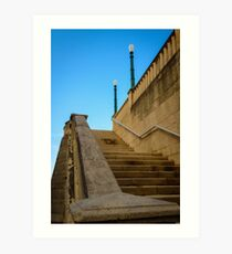Staircase -Old San Juan  Art Print