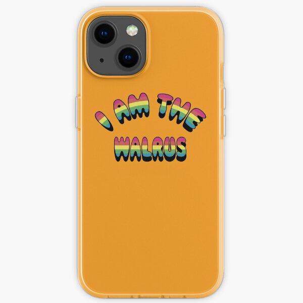 I Am The Walrus iPhone Soft Case