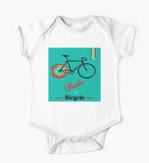 RIDE A BICYCLE : Abstract Art Advertising Print Kids Clothes