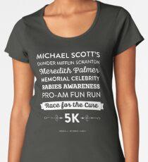 Camiseta premium para mujer La Oficina - Rabia Awareness Fun Run