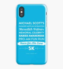 The Office - Rabies Awareness Fun Run iPhone Case/Skin