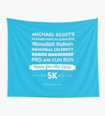 The Office - Rabies Awareness Fun Run Wall Tapestry