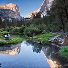 Mirror Lake - Yosemite National Park, California by Kathy Weaver