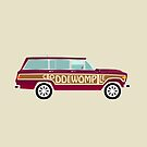 Wild Weekend Wagon Coddiwomple ! by ArtwithDog
