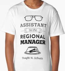 The Office Dunder Mifflin - Assistant to the Regional Manager Long T-Shirt