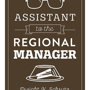 The Office Dunder Mifflin - Assistant to the Regional Manager by noondaydesign
