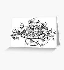 'The Mothership is a Dude!' Greeting Card