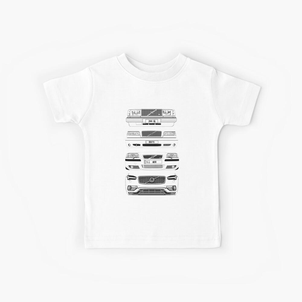 Volvo Fab Four Chassis Camiseta para niños