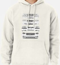 Volvo Fab Four Chassis Pullover Hoodie