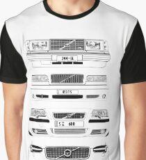 Volvo Fab Vierchassis Grafik T-Shirt