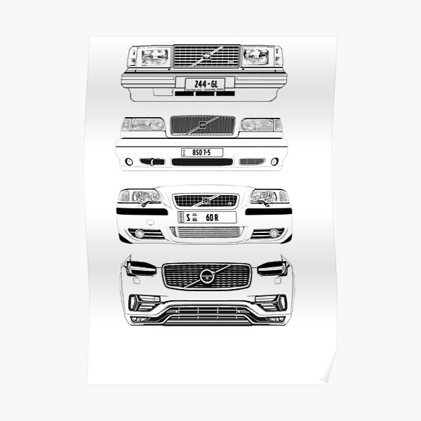 Volvo Fab Four Chassis Poster