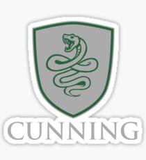 CUNNING Sticker