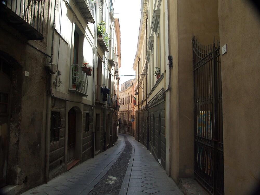Cagliari old town by John Quinn