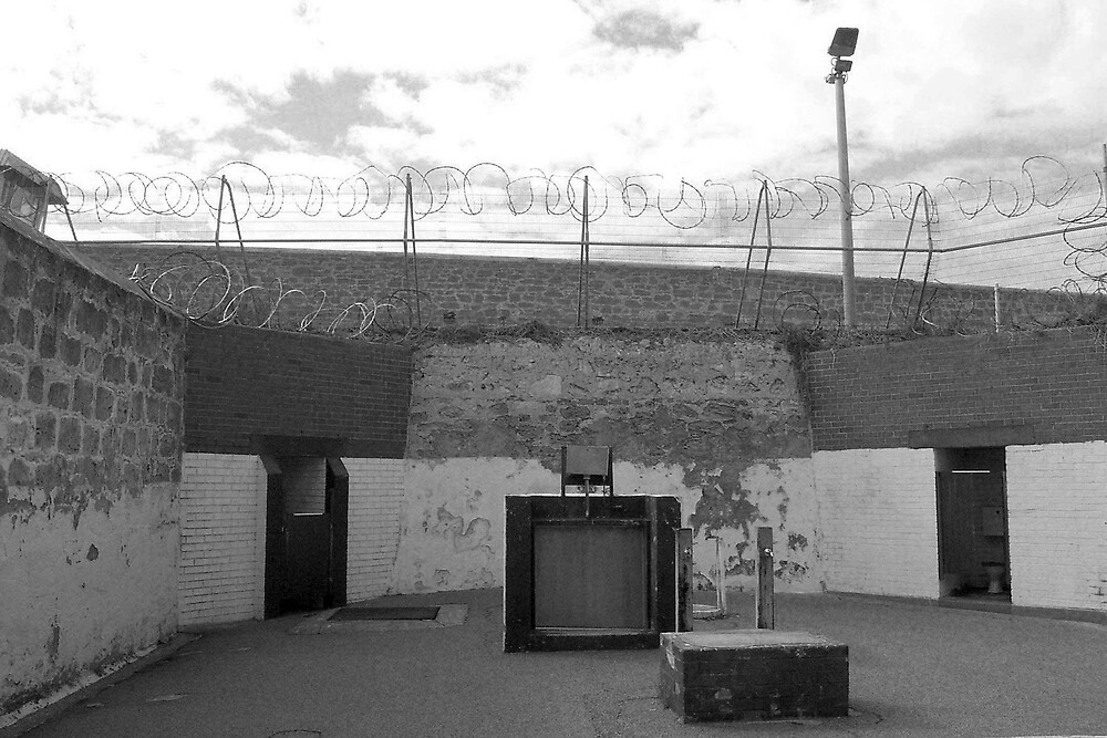 Fremantle Prison. exercise yard by georgieboy98