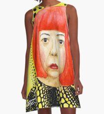 Yayoi Kusama A-Linien Kleid