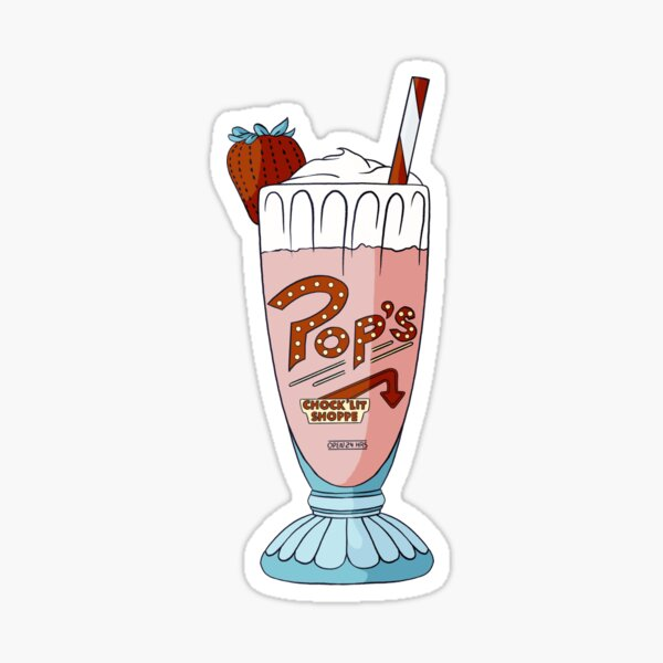 Milkshake de Pop / Riverdale Sticker