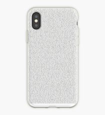 Every Lyric from Flicker iPhone Case