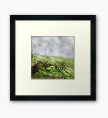 Colourful mountain Framed Print