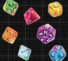 Dungeon Master Dice by K Jones