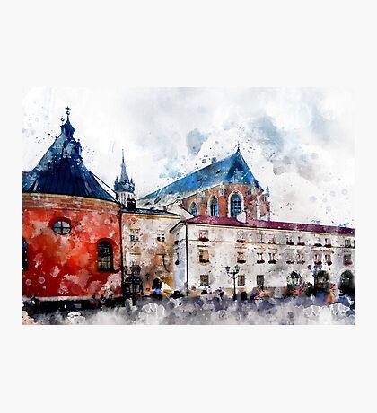 Cracow art 21 #cracow #krakow #city Photographic Print