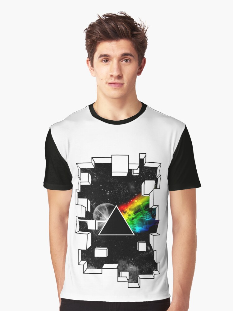 Pink Floyd Graphic T-Shirt Front