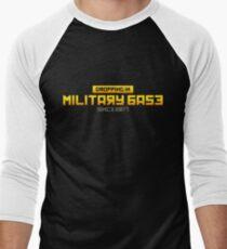PUBG Dropping in Military Base Men's Baseball ¾ T-Shirt