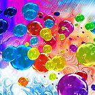 When Rainbows Melt Into Bubbles by Elaine Bawden