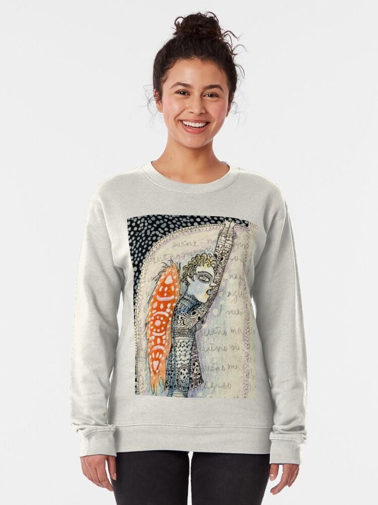 Alternate view of La conversación de los Angeles Pullover Sweatshirt