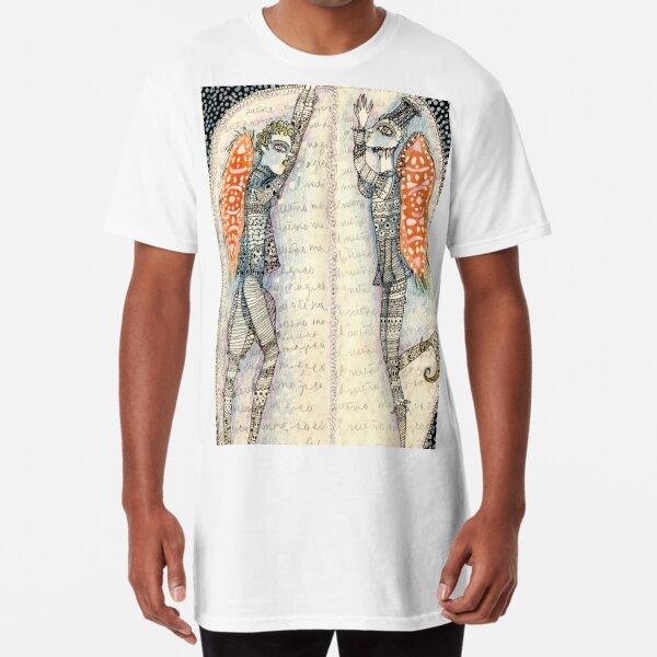 La conversación de los Ángeles Camiseta larga