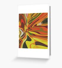 Abstract composition 491 Greeting Card